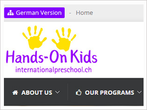 Hands-On Kids International Preschool Web Site - Effretikon